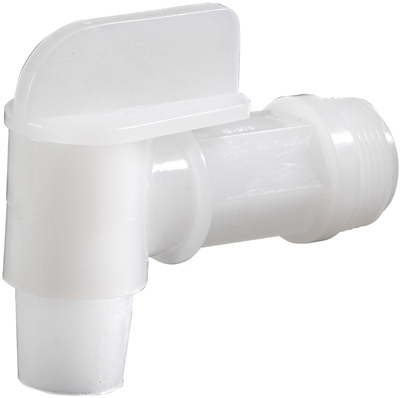 Drum & Barrel Valve, Plastic, 3/4-In.