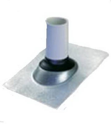 Galvanized Base Roof Flashing, 1.5-In.
