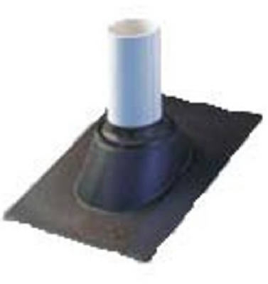 Thermoplastic No-Calk Roof Flashing, 1-Pc. Construction, 2-In.
