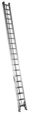 40-Ft. Extension Ladder, Aluminum, Type IA, 300-Lb. Duty Rating