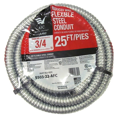 Reduced Wall Steel Conduit, 3/4-In. x 25-Ft. Coil