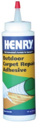Outdoor Carpet Repair Adhesive, 6-oz.