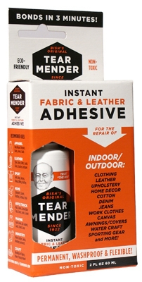 Fabric & Leather Mender, 2-oz.,Must Purchase in Quantities of 4