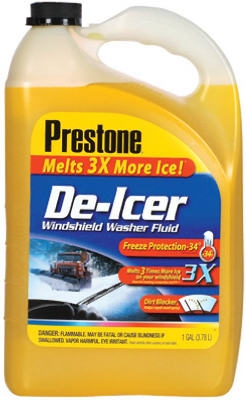 De-Icer Windshield Washer Fluid, 1-Gal.