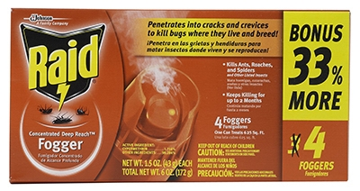 Concentrated Foggers, 1.5-oz., 4-Pk.