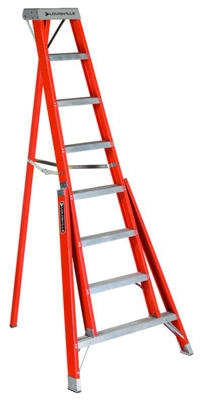 8-Ft. Tripod Step Ladder, Fiberglass, Type IA, 300-Lb. Duty Rating