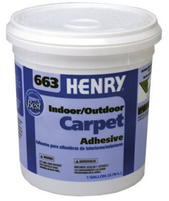 663 Outdoor Carpet Adhesive, 1-Gal.