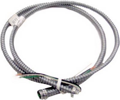 Conduit Whip, Reduced Wall, Steel, 14-3, 6-Ft. Coil