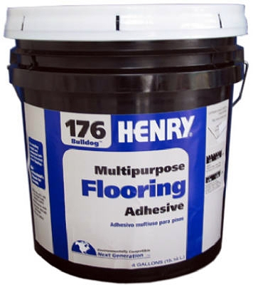 176 Multi-Purpose Flooring Adhesive, 4-Gals.