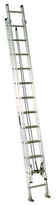 24-Ft. Extension Ladder, Aluminum, Type IA, 300-Lb. Duty Rating