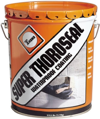 Super ThoroSeal Waterproof Coating, Cement Based, 35-Lb.