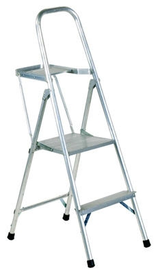 4-Ft. Platform Ladder, Aluminum, Type III, 200-Lb. Duty Rating