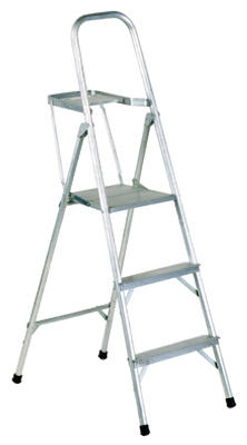 5-Ft. Platform Ladder, Aluminum, Type III, 200-Lb. Duty Rating