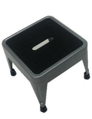 Step Stool, Steel, Non-Folding