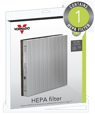 Replacement Air Purifier Filter, HEPA
