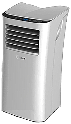 Portable Air Conditioner, 8,000-BTU