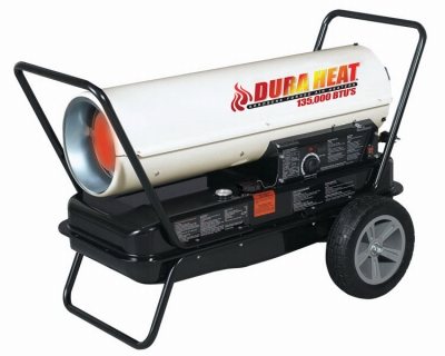 Kerosene Forced-Air Heater, Portable, 135,000-BTU