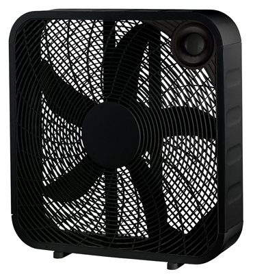 Box Fan, Black, 20-In.
