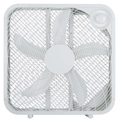 Box Fan, White, 20-In.