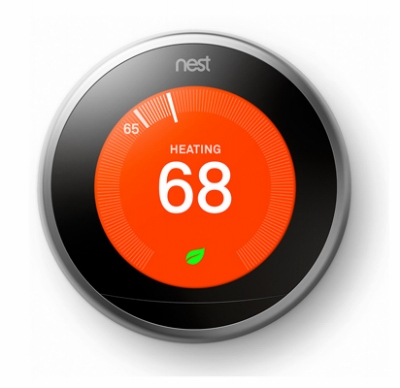 Programmable Wi-Fi Learning Thermostat, 3rd Generation, Stainless Steel