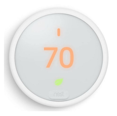 Thermostat E, Wi-Fi Programmable, White