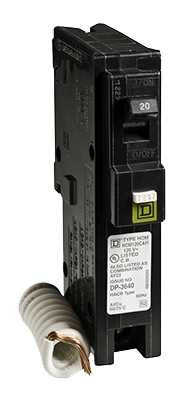 Homeline 20-Amp Single-Pole Arc Fault Circuit Breaker