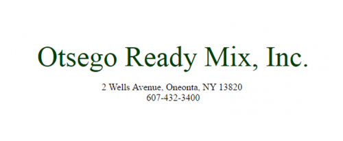 Otsego Ready Mix, Inc.