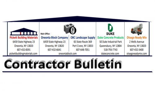 July 2016 Contractor Bulletin