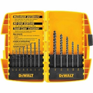 13-PC. BLACK OXIDE DRILL BIT SET