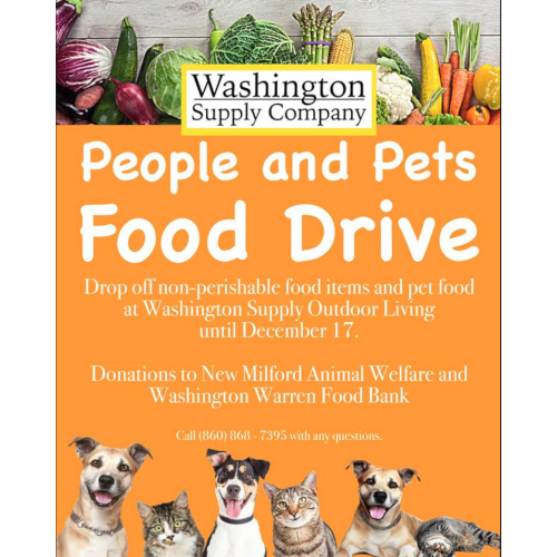 People and Pets Food Drive!