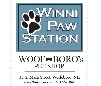 Winni Paw Station  Logo