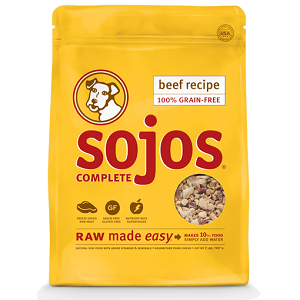 Sojos Complete Dog Food Beef Recipe, 8 lbs.