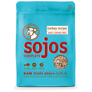 Sojos Complete Dog Food Turkey Recipe, 8 lbs.