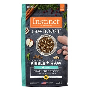 Instinct® Raw Boost® Grain-Free Recipe with Real Chicken for Puppies, 20 lbs.