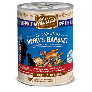 Grain Free Hero's Banquet Classic Recipe in Gravy