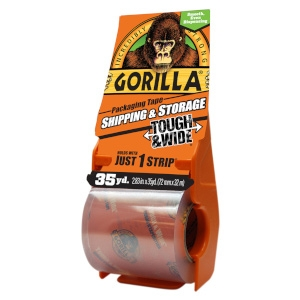 Gorilla Packaging Tape Tough and Wide 35 Yards