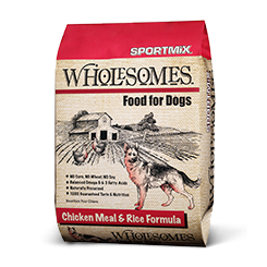 SPORTMiX® Wholesomes™ Chicken Meal & Rice Formula Dog Food