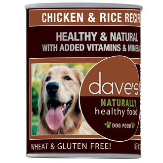 Dave's Naturally Healthy™ Chicken and Rice Canned Dog Food