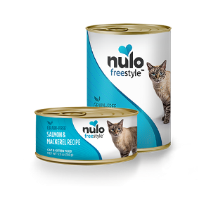 Nulo FreeStyle Grain Free Salmon & Mackerel Recipe Can Cat Food