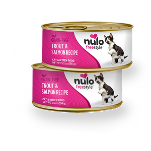 Nulo FreeStyle Grain Free Trout & Salmon Recipe Can Cat Food