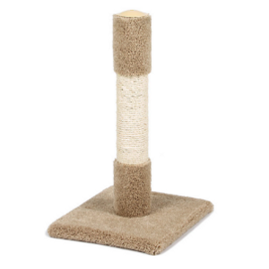 Classy Kitty Sisal Decorator Cat Post 26in