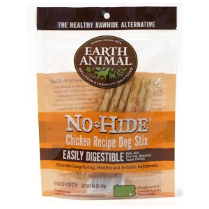 EARTH ANIMAL NO-HIDE CHICKEN STIX 10 PK