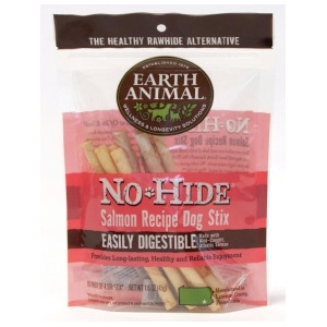 EARTH ANIMAL NO-HIDE SALMON STIX 10 PK