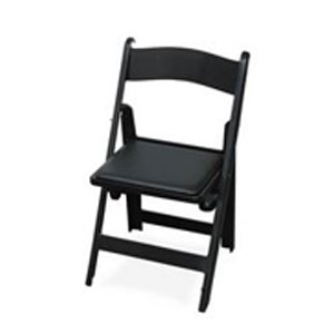 Classic Black Poly-Resin Chair