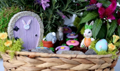 Make a Rabbit Garden for Spring