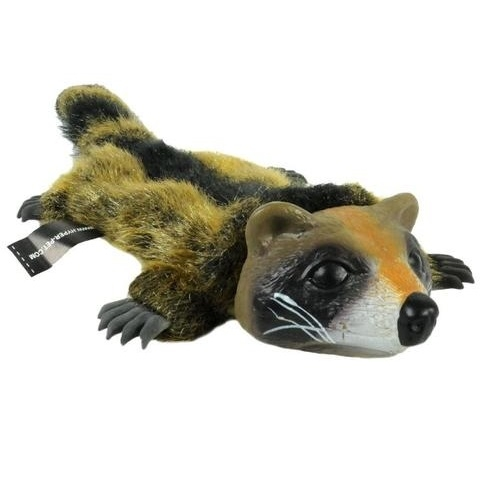 Hyper Pet Real Skinz Racoon Dog Toy