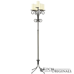 Koch Originals 5-Light Tree Floor Candelabra