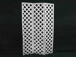 Lattice screen 3 panel