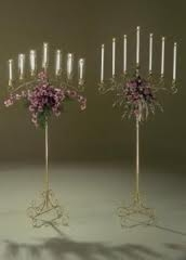 7 Light adjustable candelabra