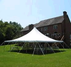 Anchor 40 x 40 pole tent